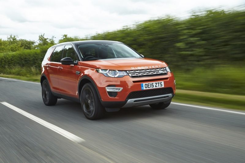 The 2016 Land Rover Discovery Sport is not afraid of mud