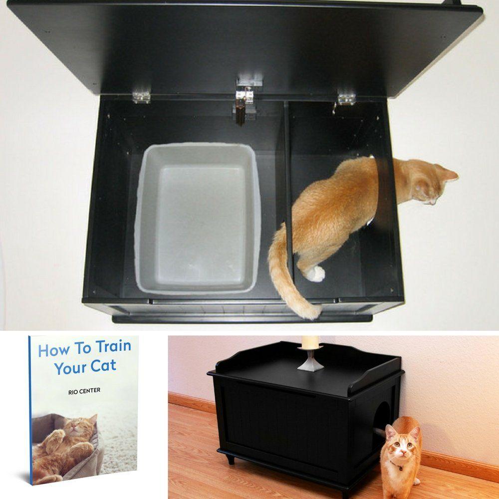 designer box boxes kitty hidden images on cat enclosure pinterest best furniture litter catbox