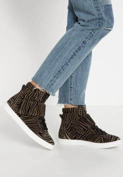 Just Cavalli - High-top trainers - agave