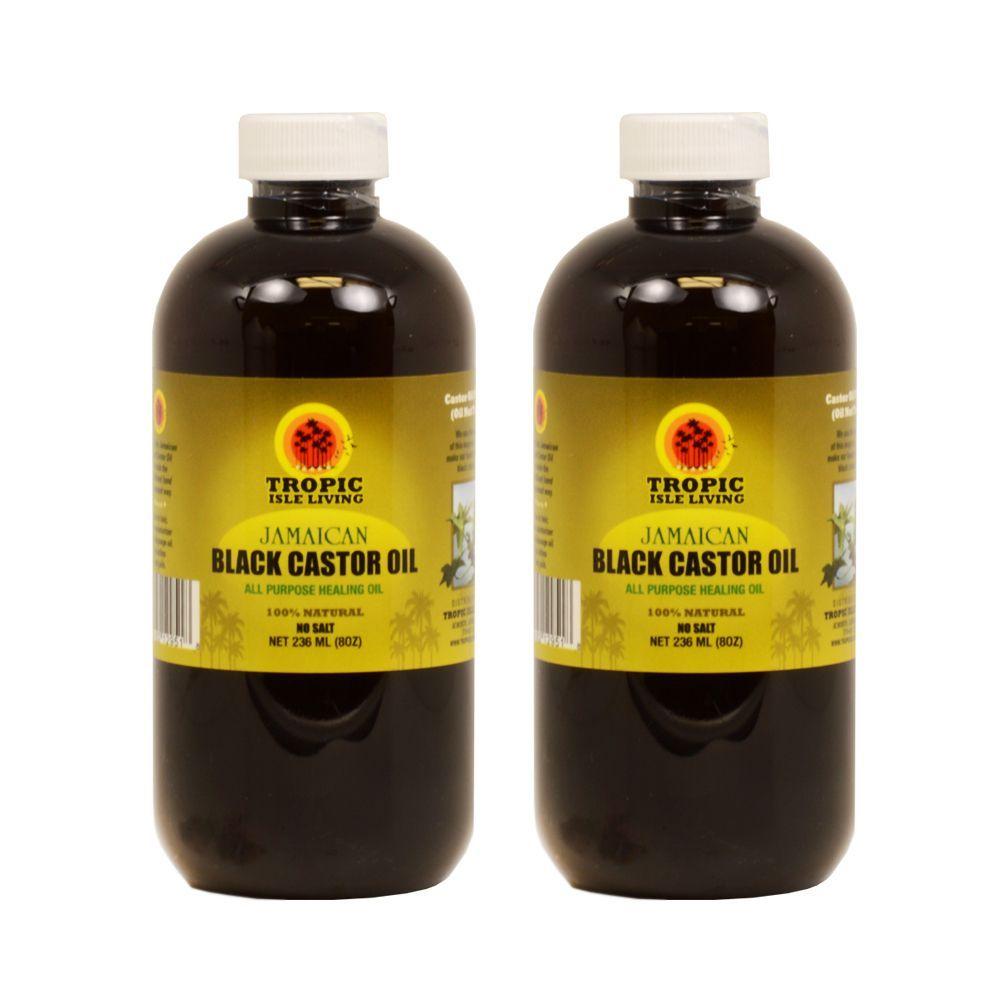 Tropic isle ounce jamaican castor oil with applicator oils