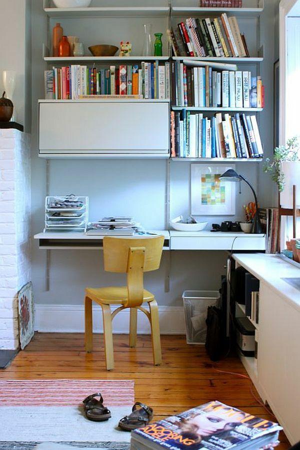Regale und Schreibtisch richtig kombinieren und mehr Platz gewinnen ...