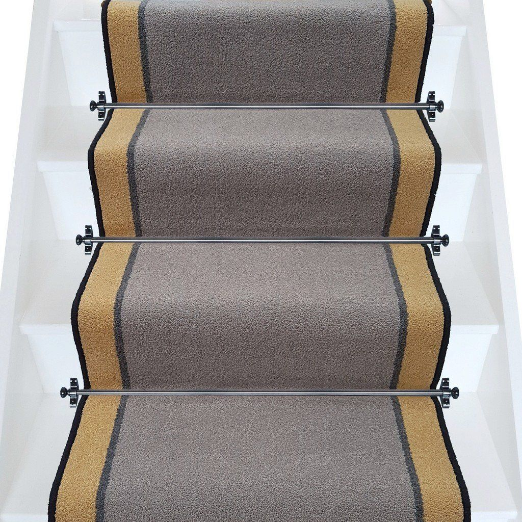 Brintons carpets bell twist pewter smoke luxor gold stair