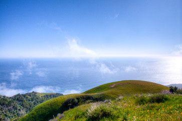 Big Sur Coast Ridge Estate mediterranean-landscape