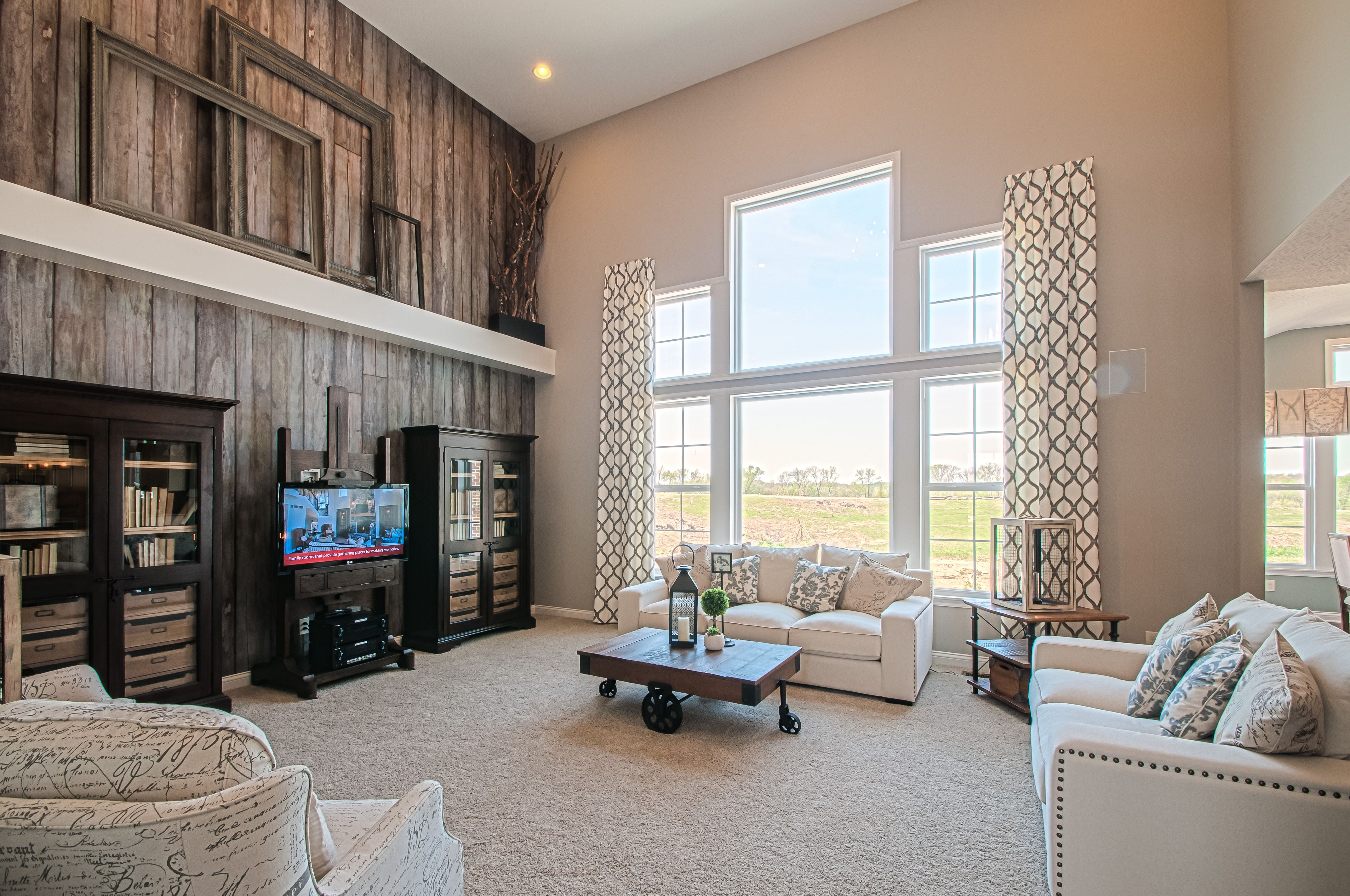 Make your room unique with a wood paneling accent wall-Fischer Homes ...
