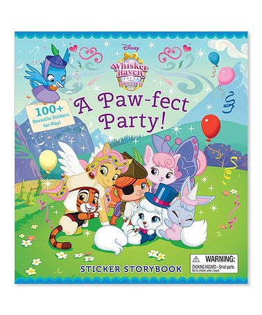 Love This Whisker Haven Tales With The Palace Pets Sticker Hardcover On Palace Pets Disney Sticker Disney Books
