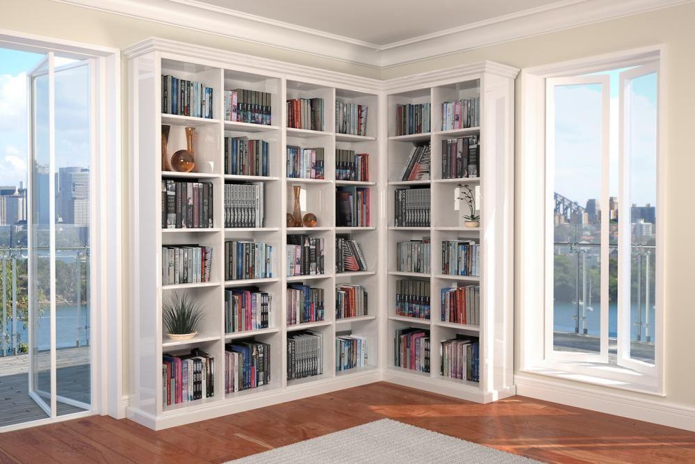 l shaped bookcase Google Search