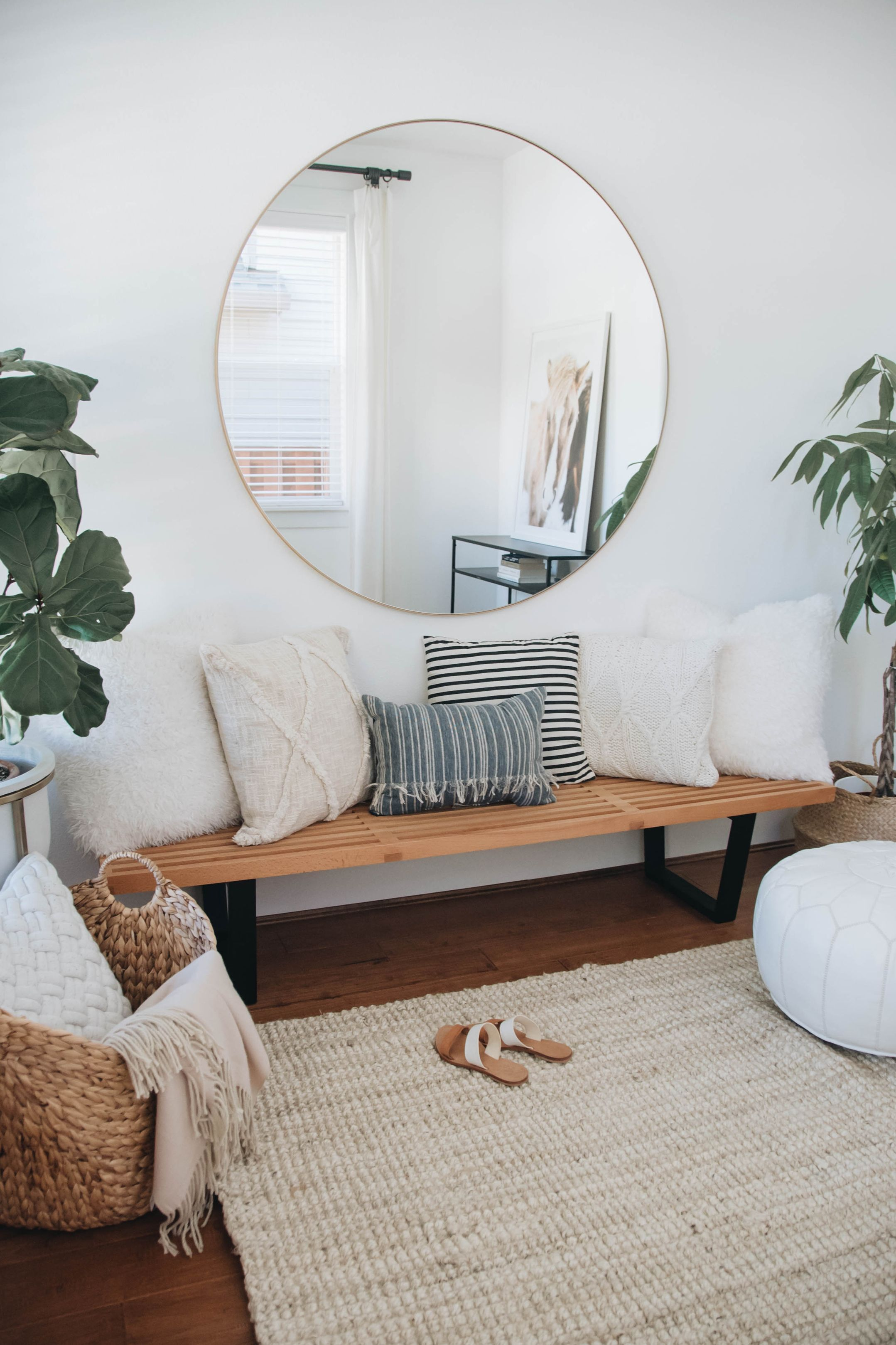 Walmart Home – Coastal Vibes in the Entry