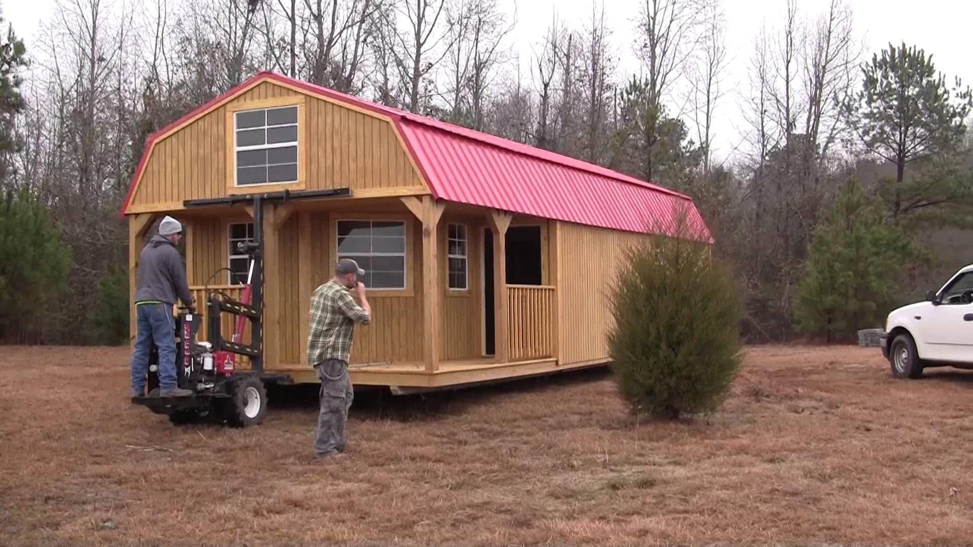 Premier Portable Buildings Barn Delivery (2 Of 2)