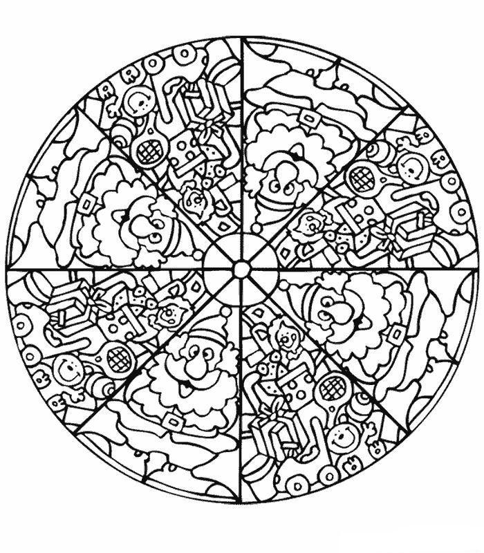 Kids N Fun Coloring Page Mandala Mandala Mandala Malvorlagen Malvorlagen Mandala Ausmalen
