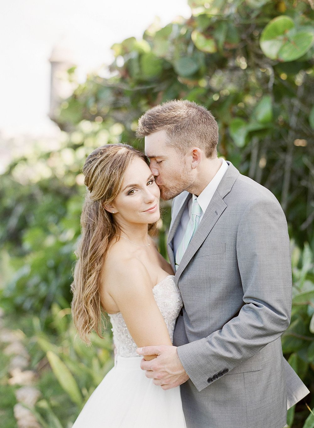 Puerto Rico Destination Wedding - photo by Lisa Blume Photography http://ruffledblog.com/destination-wedding-in-a-puerto-rican-rainforest