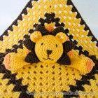 Lion Security Blanket Crochet Pattern - Dee Argyle - #ALLES #crochetsecurityblanket