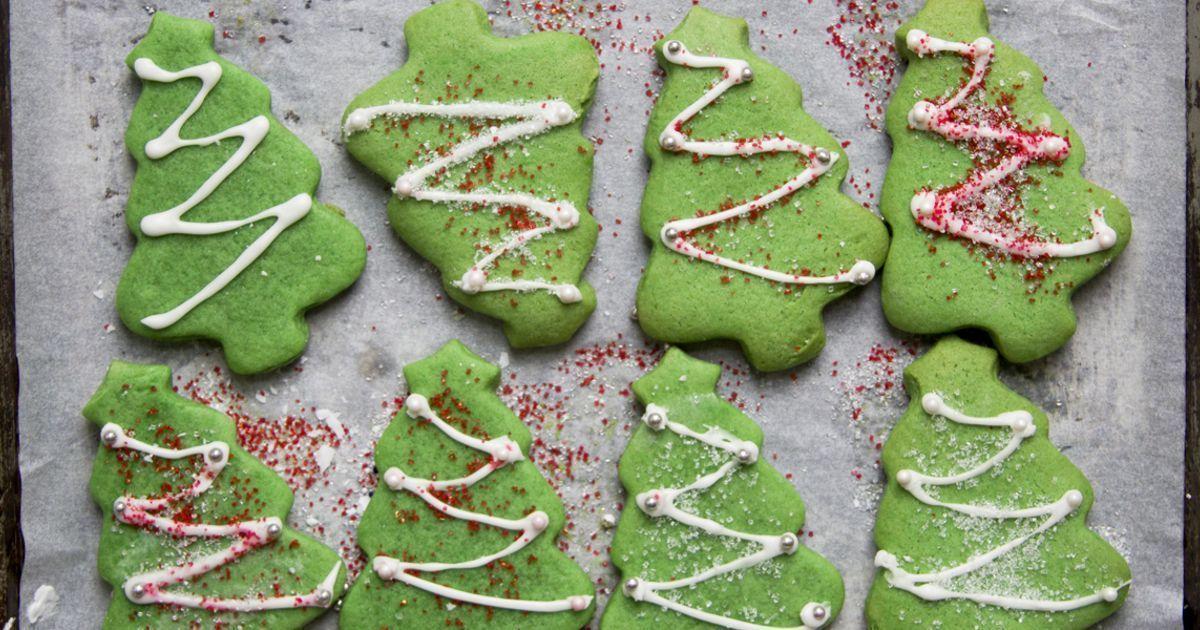 Christmas Tree Cookies Cookies Holiday Cookies Christmas Tree