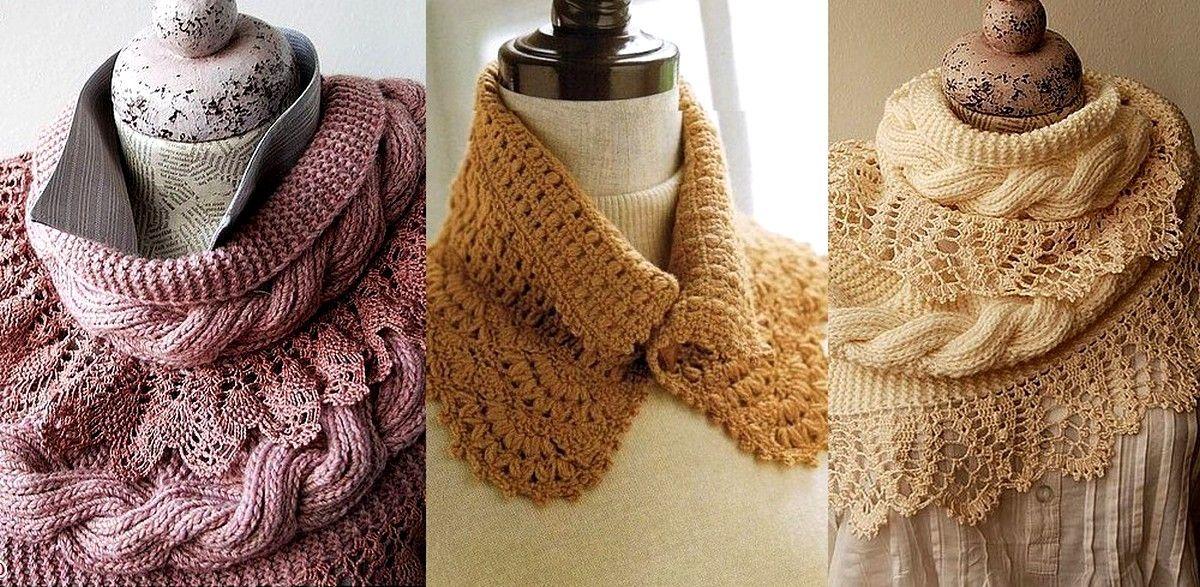 Dorable Patrones Bufanda Tubo Crochet Libre Colección de Imágenes ...