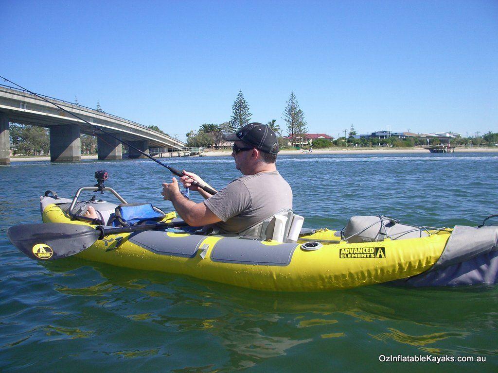 Inflatable Fishing Kayak Straitedge Angler ae1006ang