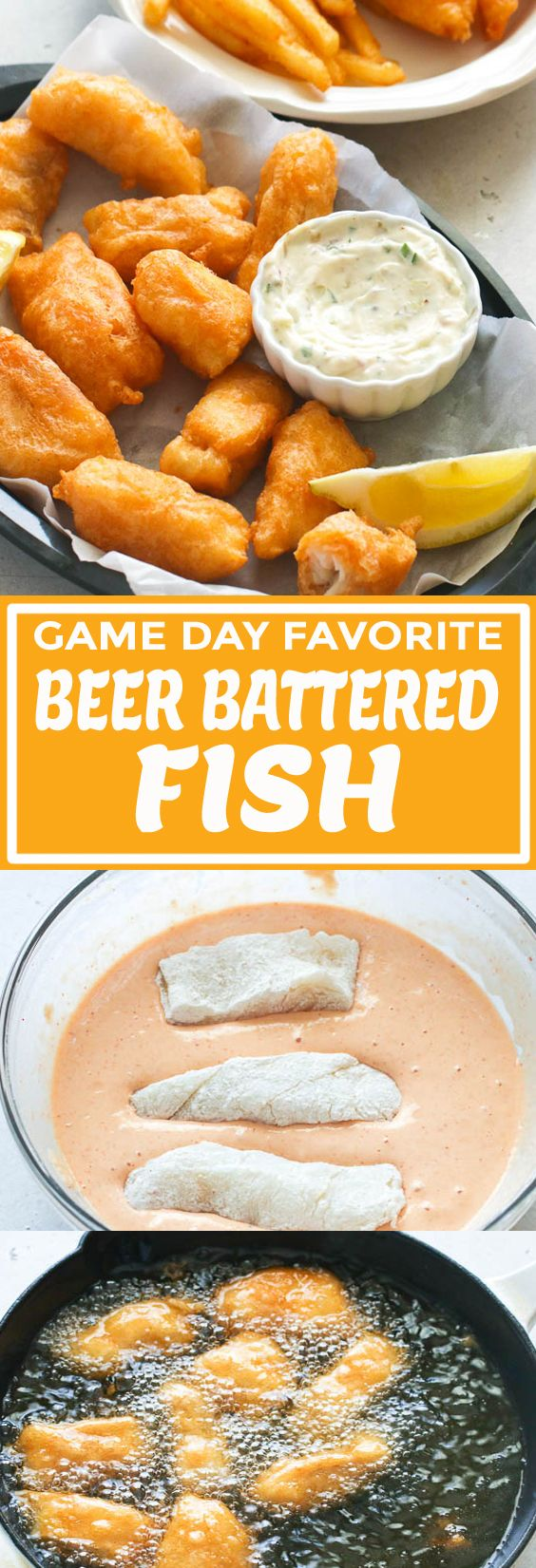 Photo of Beer Battered Fish – Immaculate Bites