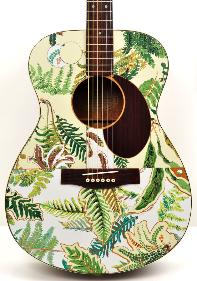 Pin By Tom Best On Mod Podge Rocks Painted Ukulele Guitar Painting Acoustic Guitar