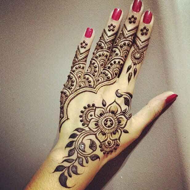 Floral Mehandi Design Heena Mehendi Henna Tattoo Designs