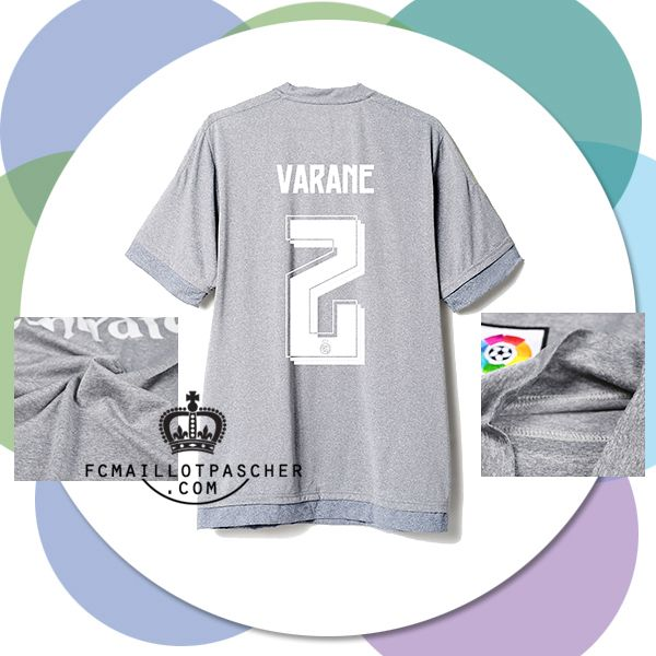 Maillot Extérieur Real Madrid Varane