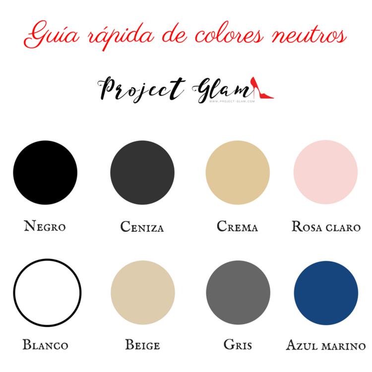 Gu a pr ctica de colores neutros asesor a de imagen pinterest colores colores neutros y - Paleta de colores neutros ...