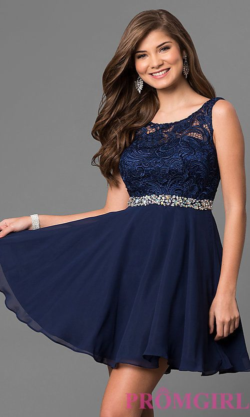 Laces Short Homecoming Dresses Under 50.00