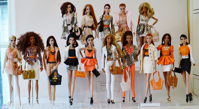 orange collection fashion Royalty | can also be viewed on my… | Flickr