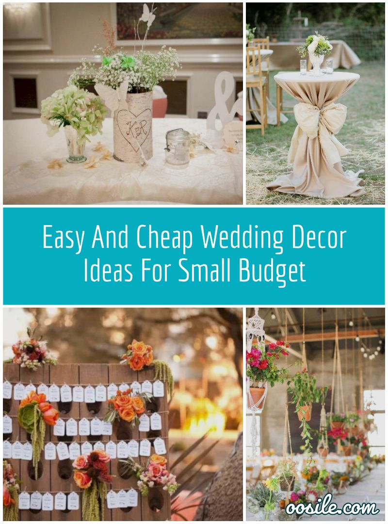 25 Easy And Cheap Wedding Decor Ideas For Small Budget Cheap Wedding Reception Flower Centerpieces Wedding Wedding Table Centerpieces