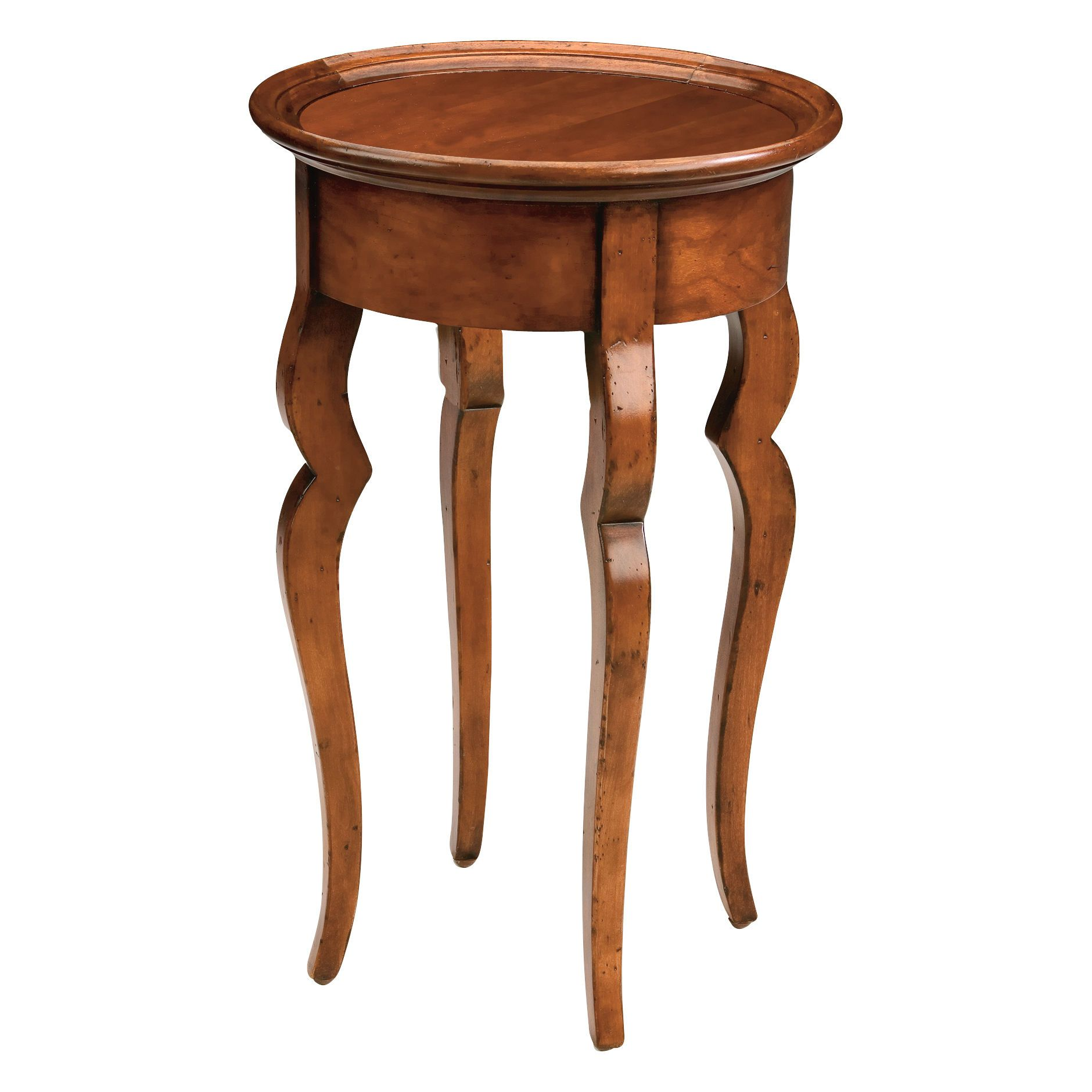 Elisha Round Accent Table - Ethan Allen US, 2nd option for chair by window