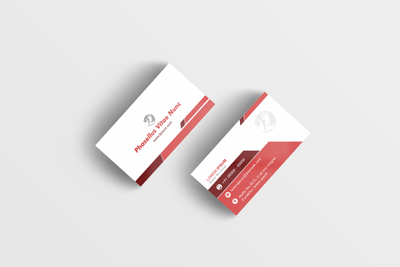 Visiting Card Design Sample | Visiting card design, Visiting card ...