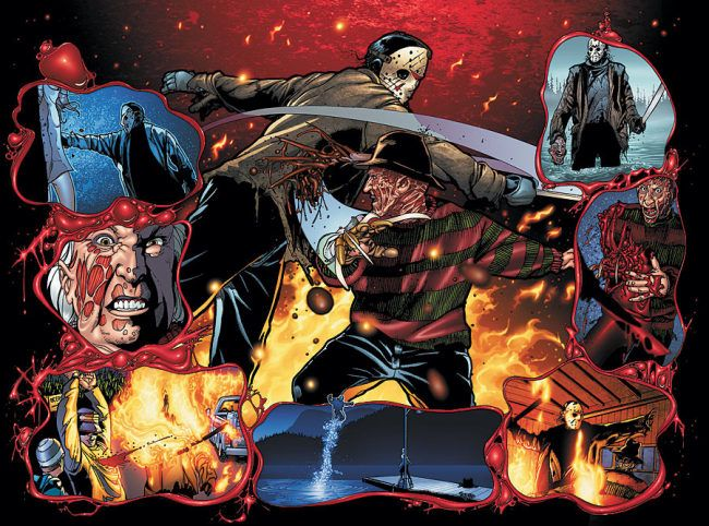 Freddy Vs Jason With Images Best Classic Horror Movies Scary