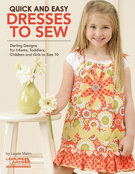 Leisure Arts - Quick and Easy Dresses to Sew, $9.95 (http://www.leisurearts.com/products/quick-and-easy-dresses-to-sew.html)