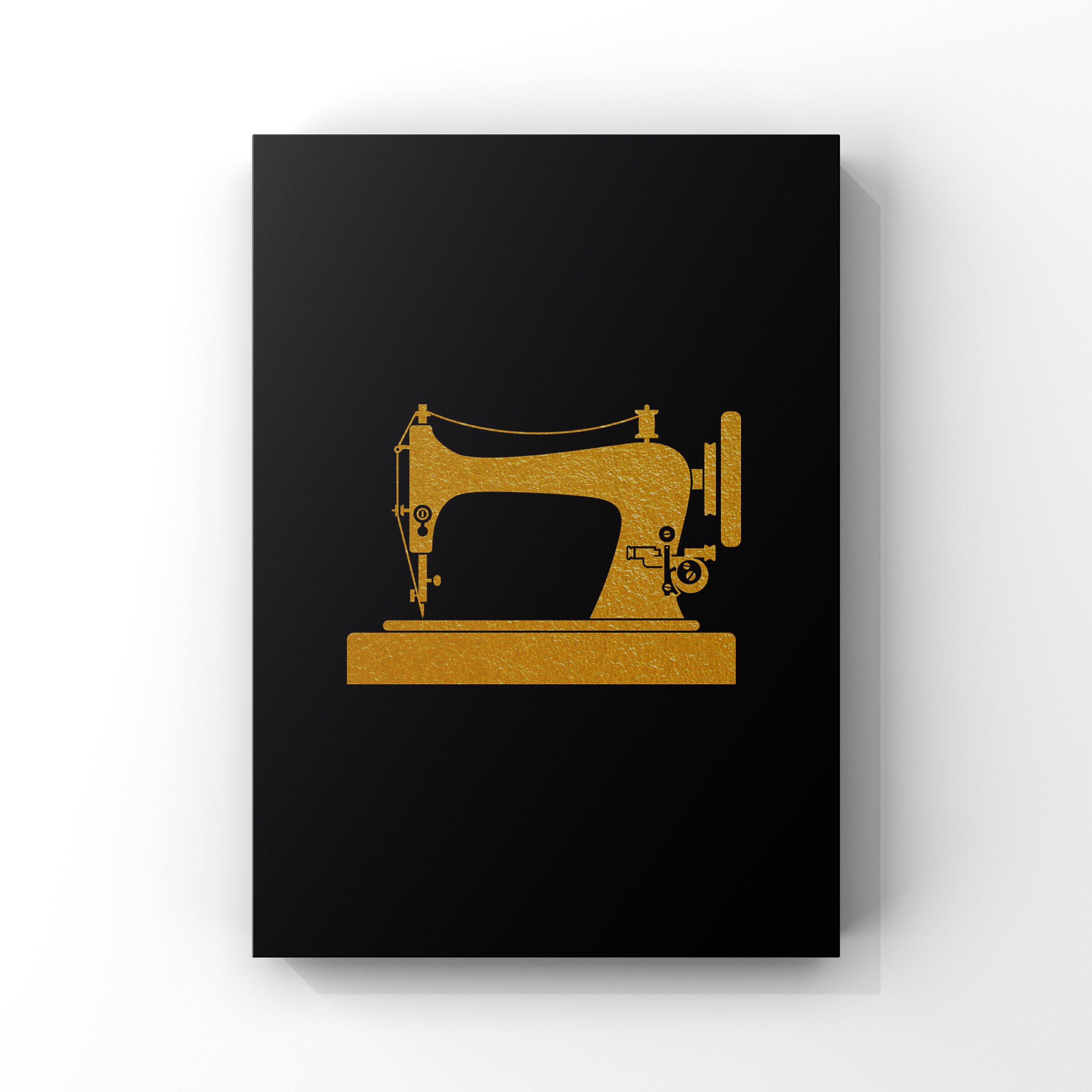 Art Deco Vintage Sewing Machine Wall Art Gift For Fashion Designers Fashion Inspired Wall Art Digital Download Singer Sewing Machine Vintage Sewing Machine Vintage Sewing Minimalist Art