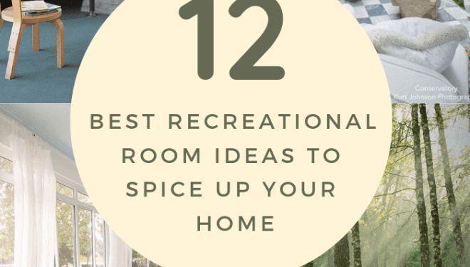 Photo of 12+ Beste Ideen für Freizeiträume, um Ihr Zuhause aufzupeppen 18 Holen Sie sich alle Ideen zu …, #Home # …