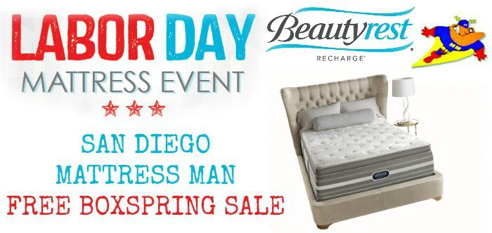 Free Boxspring Labor Day On All Mattresses Delivery Set Up Removal Call 619 448 0991 Ask For Arnold Mattress And In San