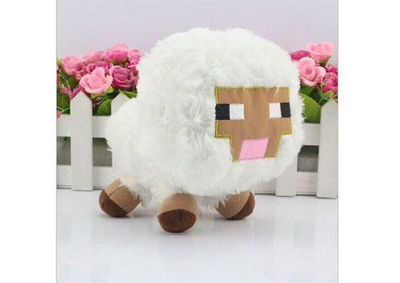 Free Shipping 15CM Minecraft Plush Baby sheep Toys Creeper Plush