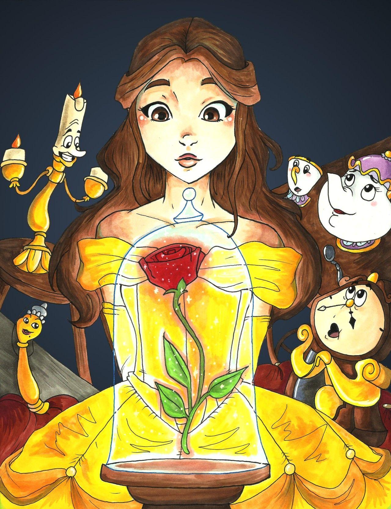 Belle Is My Favourite Desenho Da Bela Bela E O Monstro Bela E