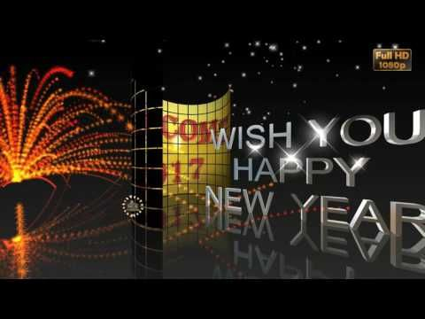 Happy New Year 2017new Year Wisheswhatsapp Videogreetings
