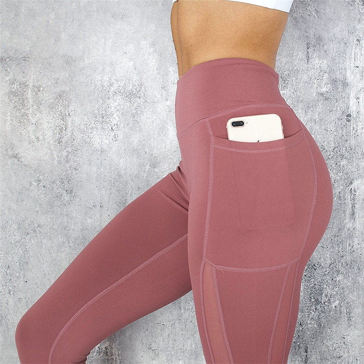 Fitness Leggings Push up High Waist Pocket Workout Leggings - BeFashionova