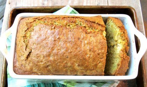 3 recipes for zucchini bread