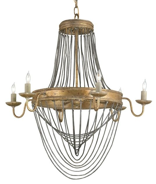 Buy the currey and company 9411 french gold leaf direct shop for the currey and company 9411 french gold leaf lucien 6 light high 1 tier chandelier and