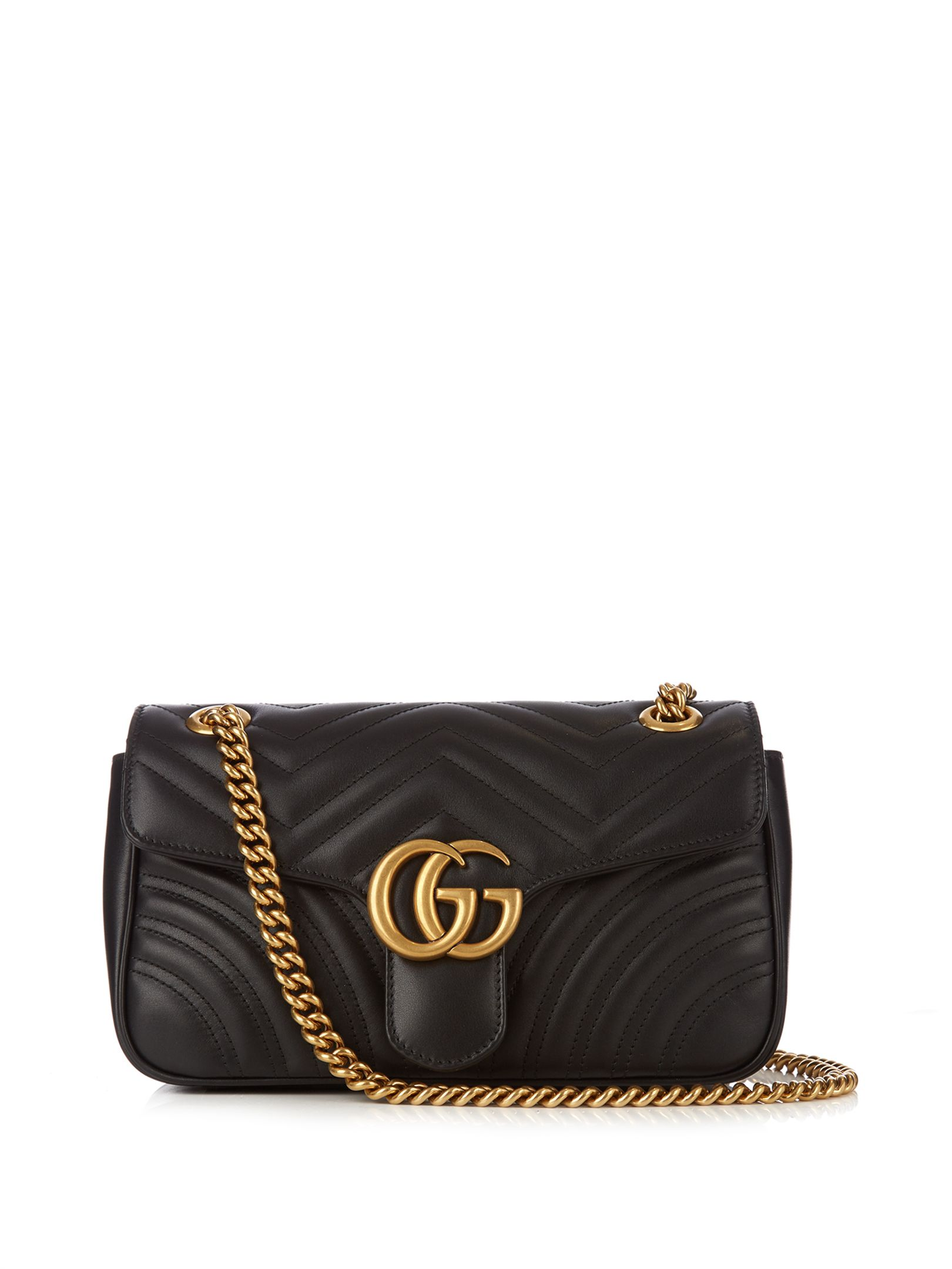 36f8d03b086e GG Marmont small quilted-leather bag