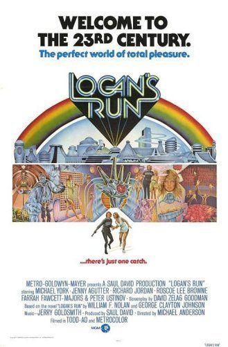 Flykten från framtiden (1976) Poster