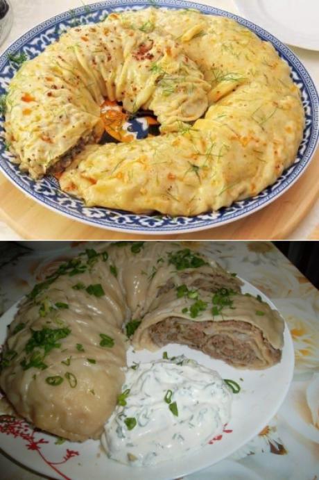 блюда в мантышнице рецепты