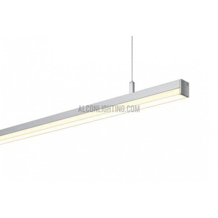 suspended linear lighting. Exellent Linear Alcon Lighting Slim 12123 Architectural Suspended Linear LED Direct Office  Fixture With R