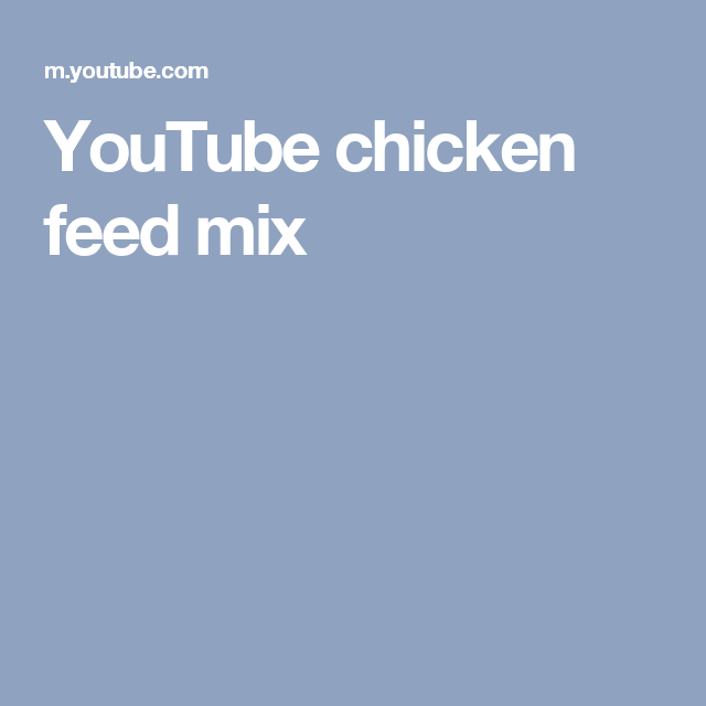 Youtube Joe Salatin Broiler Chicken Feed Mix Poultry Care