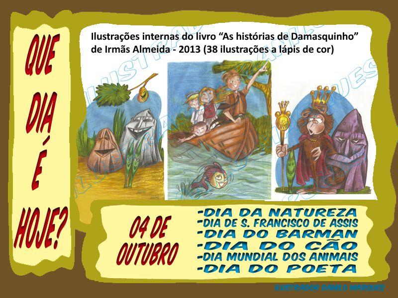 Serie Que Dia E Hoje 03 B 04 De Outubro Dia Da Natureza