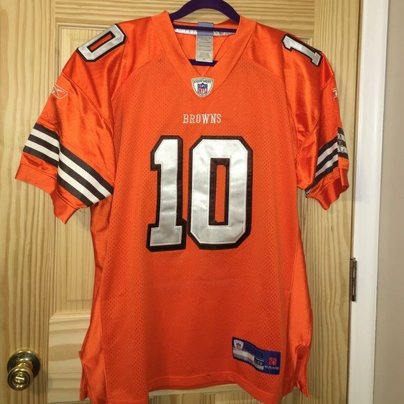 BROWNS Brady Quinn authentic jersey. BROWNS authentic jersey. QUINN 10. Size 48. Worn once !!! Other