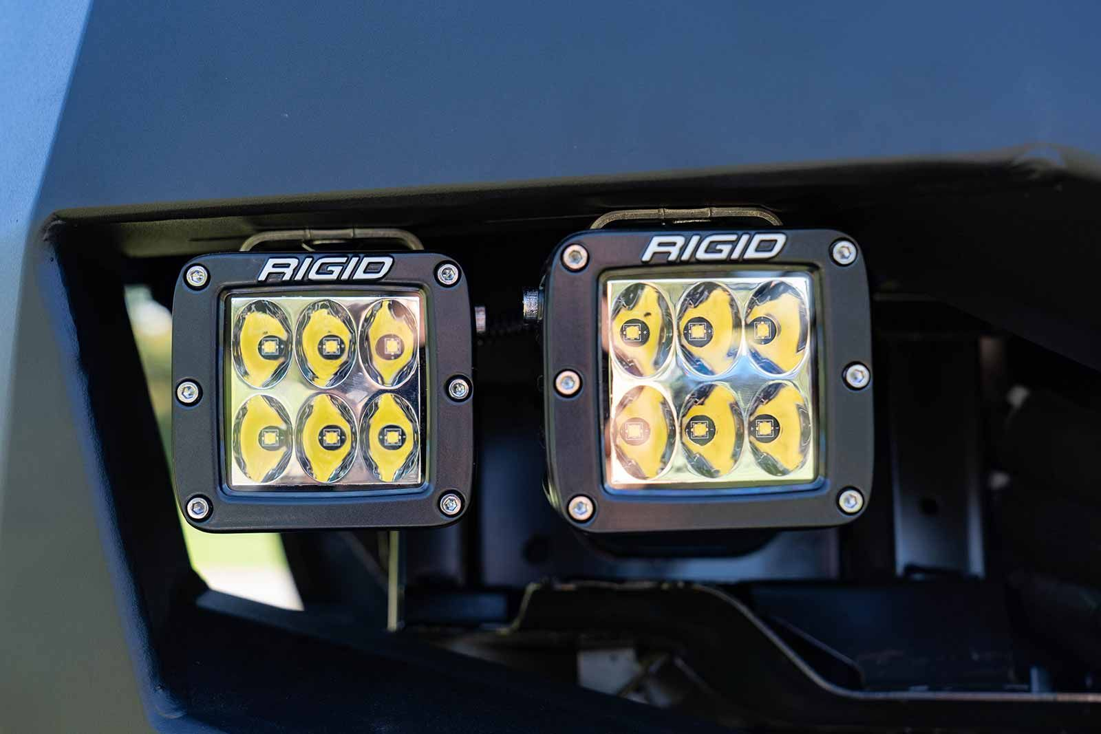 Rigid Industries D-Series Pro Specter Driving Surface Mount Black 2 Lights #ledtechnology