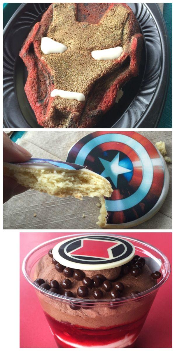 Avengers desserts at Disneyland l @nerdist
