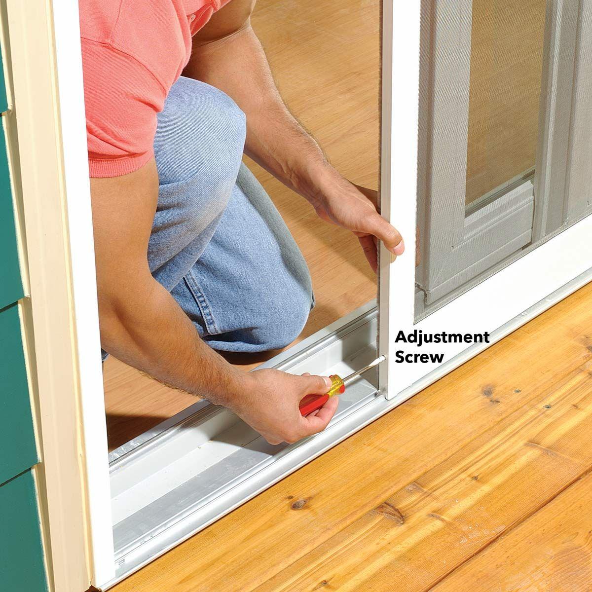 How To Adjust A Sticking Patio Screen Door Patio Screen Door