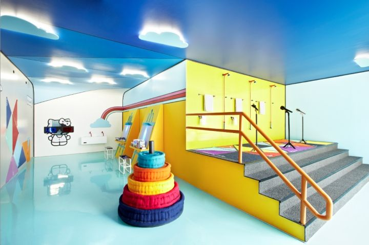 Marvelous WeNew Innovation Have Designed The PlayRoom, A Functional Space Where  Children Play While Receiving Wellness Therapies. The Interactive  Experiences Of The